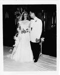 Camille Henderson and O. C. Halyard wedding photo, Aug. 1952