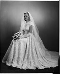 Camille Henderson on her wedding day, Aug. 20, 1952
