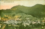 Birds eye view of City of Logan, W.Va., ca. 1913