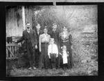John Henderson family, Cam second from left, ca. 1901
