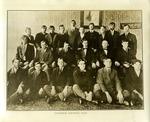 Excelsior Debating Club, probably at Salem College, 1917