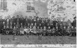 Bristol, W.Va. public school, 1912, Cam henderson in rear