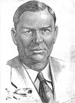 Copy of the sketch of Cam Henderson by Irvin Dugan, 1938