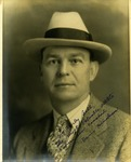 Autographed photo of Cam henderson, ca. 1925