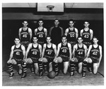 Cam Henderson with Marshall College basketball team, 1939
