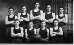 Cam Henderson with Bristol High School team, 1915