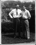 Autographed photo of Bob Adkins (Babe) & Cam Henderson, 1943
