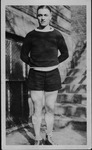 Bill Barrett, Davis and Elkins College basketball player, ca. 1925