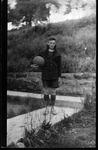 Jimmy Carter, Bristol High School basketball player, ca. 1915