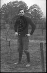 Ben Orr, athlete, possibly at Glenville Normal School, 1910
