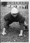 Sam Clagg, football player at Marshall College, Ca. 1946
