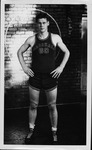 Bill Hall, basketball forward at Marshall College, late 1940's