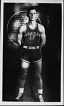 Andy Tonkovitch, basketball guard at Marshall College, late 1940's
