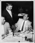 Jackie Hunt and Stan Huffman, 1954