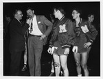 Cam Henderson radio interview after National championship win, 1947