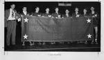Marshall championship team at Kansas City, 1947