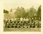 Davis & Elkins football team, ca. 1927-1930, Cam back row, center