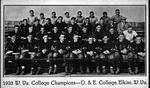 Davis & Elkins football team, W.Va. college champions, 1923