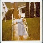 Roxie Bell Henderson, wife of Cam Henderson, Huntington, Summer 1972