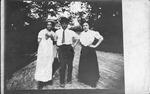 Roxie Bell Henderson, Billy Cooper, Helen Harding, ca. 1910