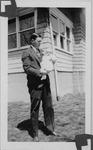 Cam Henderson holding dau Camille, Mar. 1928