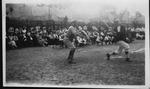 Farley Bell, catcher on baseball team, Quaker City, Penn., ca. 1917-1920