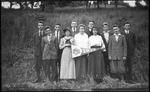 Bristol, W.Va. High School class, 1917
