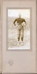 Farley Bell as a football player, ca. 1915-1919