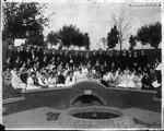 Muskingum College class, ca. 1920