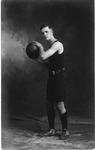 Rex Johnson, basketball player for Bristol Hi School, ca. 1919-1920?