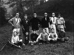 Bristol High baseball team, 1914-15 Cam Henderson back row, left