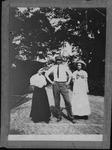 Cam henderson, Roxie Bell henderson (rt), Helen Harding (lt), 1911