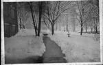 Snow scene, Glenville StateCollege, ca. 1910