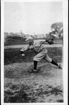 Pud Hutson, while playing baseball for Muskingum College, ca. 1920