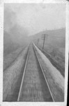 Unidentified view of railroad tracks