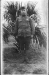 Pud Hutson in WWI Army uniform, 1919