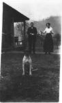 John Branner and dog