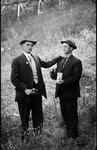 Claude Shaw of Wallace, W.Va. & unidentified man, ca. 1910