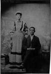 Unidentified couple, ca. 1880-1890's