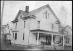 1st house Cam Henderson & Roxie lived in at Salem, W.Va., 1916