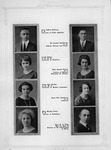 page from Muskingum College 1924 yearbook showing Cam & Roxie Henderson