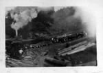 Sawmill processing logs, W.Va., ca. 1900