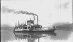 Sternwheel Guyandotte ferryboat Champion
