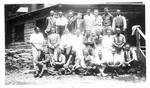 Men's group at Camp OYO, near Friendship, Ohio