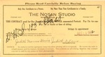 Notan Studio certificate for sitting and one portrait, Huntington, WV