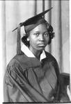 Fannie Allen, graduation photo,