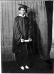 Vera Dickenson, graduation photo