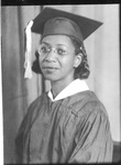 Anna France, graduation photo
