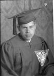 Albert Jefferson, graduation photo