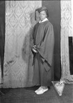 Virginia Jefferson, graduation photo